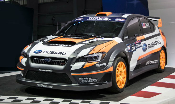 Subaru STI performance car
