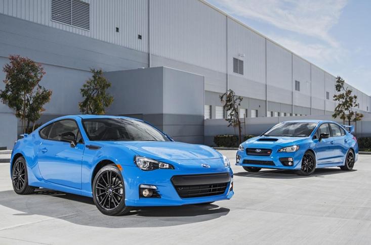 Subaru BRZ Hyper Blue 2016